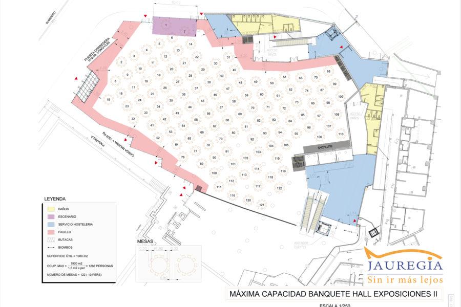 plano HALL II sin sala